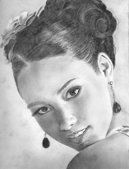 Alicia Keys by deriwhite