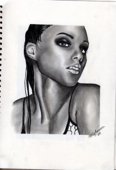 Alicia Keys by hollymay