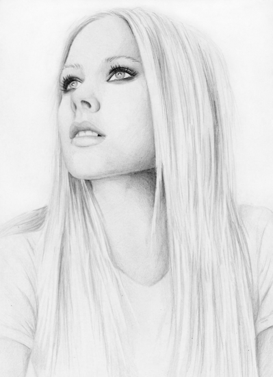 Avril Lavigne by Anette