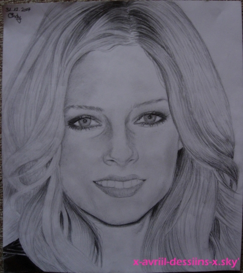 Avril Lavigne by cindy-dessin