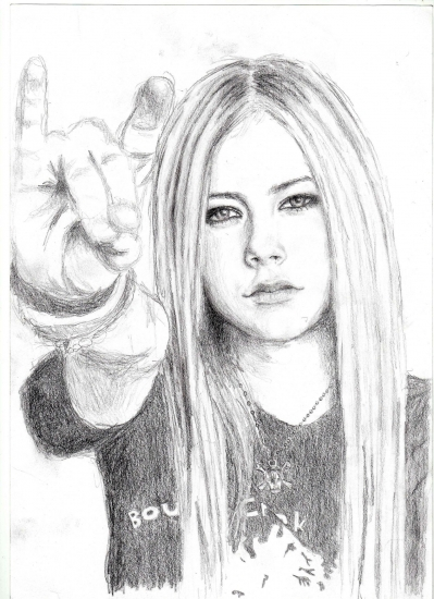 Avril Lavigne by xxxxtina