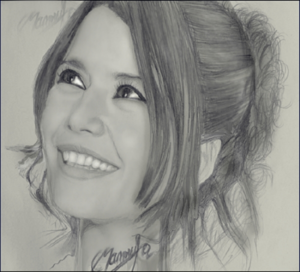 Stars Portraits - Portrait of Beren Saat by edina