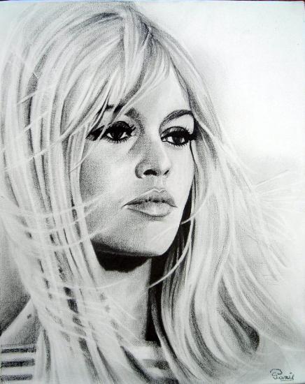 Brigitte Bardot © poussin