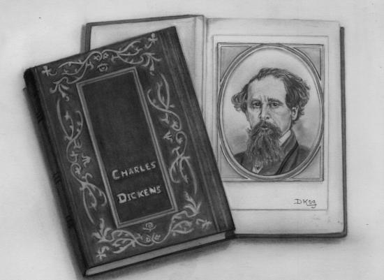 Charles Dickens par Dani