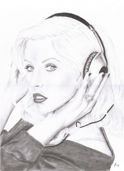 Christina Aguilera by soledad72