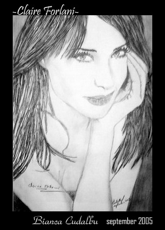 Stars Portraits - Portrait of Claire Forlani by BiancaCudalbu