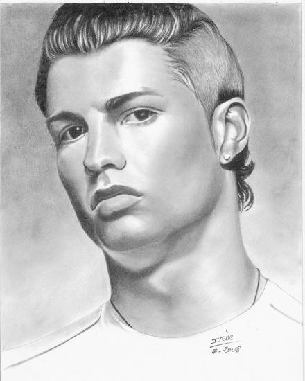 Comment dessiner - Ronaldo coloriage ...
