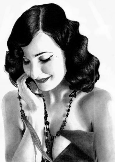 Dita Von Teese Portrait