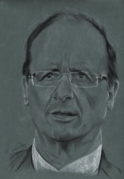 FRANçOIS HOLLANDE by flohic