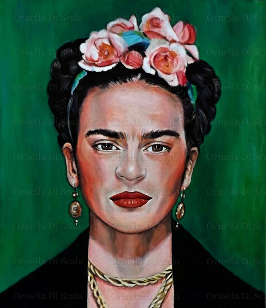 portrait of frida kahlo by velvetdressx on stars portraits. Black Bedroom Furniture Sets. Home Design Ideas
