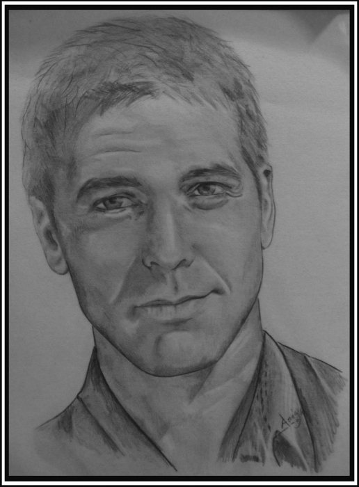 Click here to see AarisArt's gallery Contact AarisArt. George Clooney
