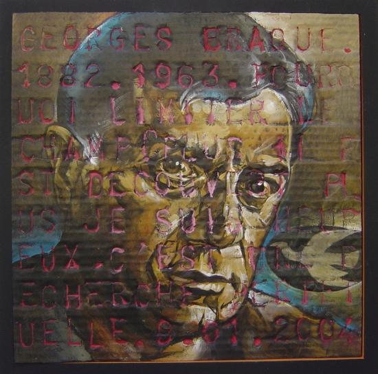Portrait of georges braque by boillon on stars portraits for Braque peintre