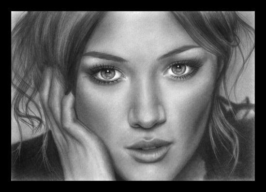 Hilary Duff by StingingPistol