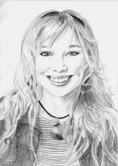 Hilary Duff by Agniesia