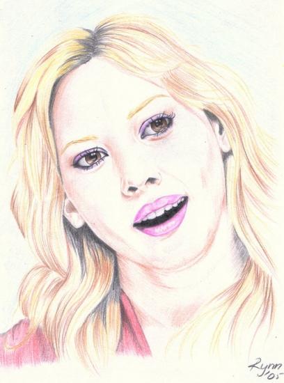 Hilary Duff by Rynn