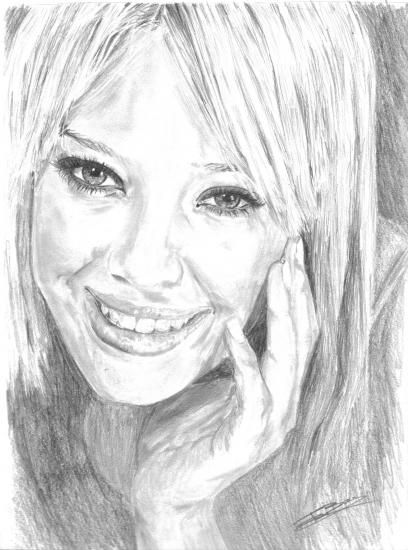 Hilary Duff by Zalie