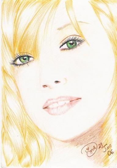 Hilary Duff by dina