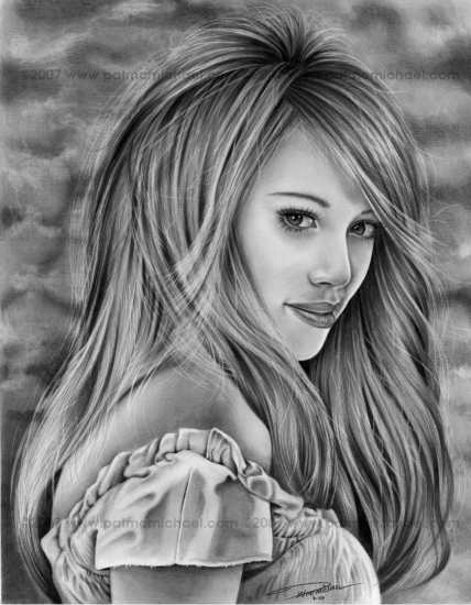 Hilary Duff by pmcmicheal
