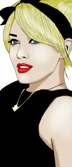 Hilary Duff by roxy_muzik