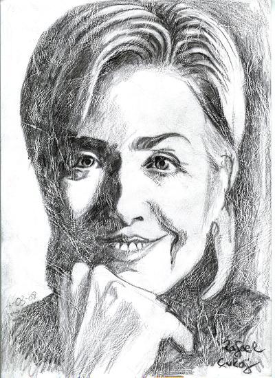 hillary clinton portrait. Hillary Clinton