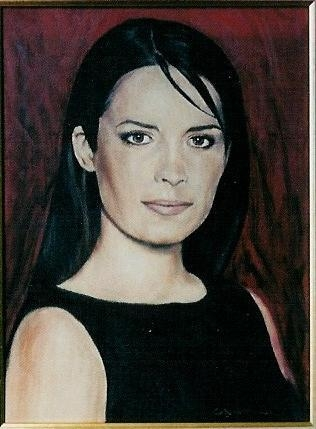 Stars Portraits - Portrait of Holly Marie Combs by tiziano_cantini