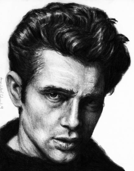 James Dean A4 Pencil
