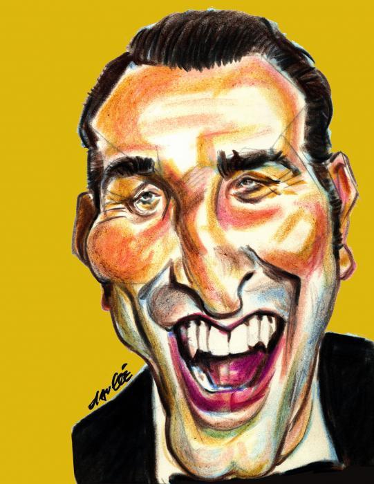 Portrait de jean dujardin par daulle sur stars portraits for Contacter jean dujardin