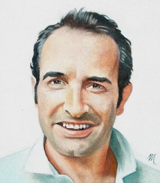Portrait de jean dujardin par mario sur stars portraits for Contacter jean dujardin
