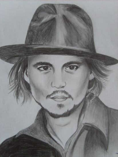 Johnny Depp by Lanney