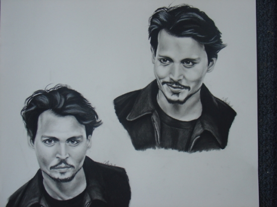 Johnny Depp par abish