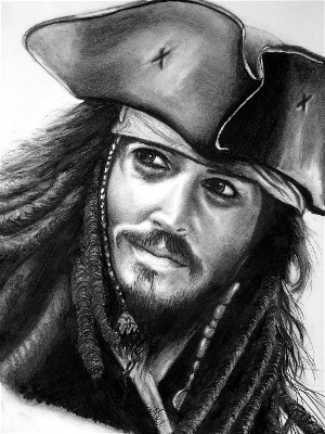 Johnny Depp by abish