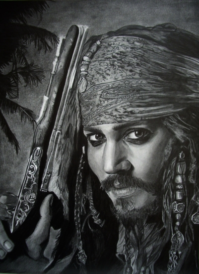 Johnny Depp by AnoukR