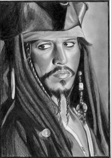 Johnny Depp by SilentPortrait