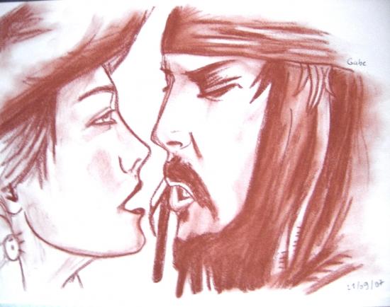 Keira Knightley, Johnny Depp by WentyPitt49