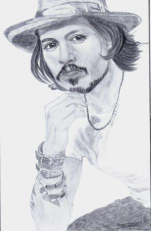 Johnny Depp by roger