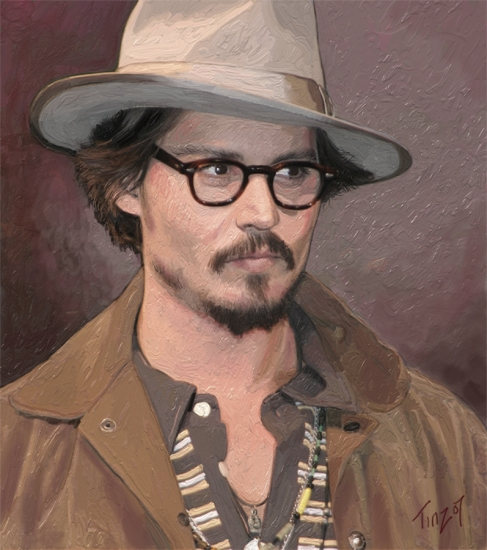Johnny Depp by tinz576