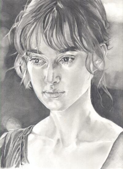 Keira Knightley by Lumosart
