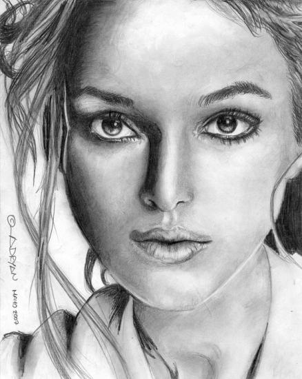 Keira Knightley by adryan