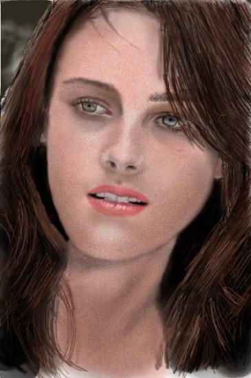 Kristen Stewart by Steven