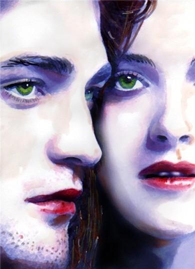 Kristen Stewart, Robert Pattinson by brainfree