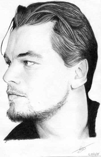 leonardo dicaprio. Leonardo DiCaprio by Monkey-