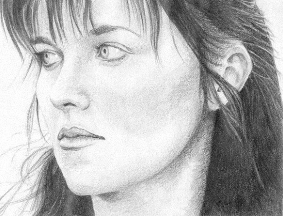 lucy lawless. Lucy Lawless by Angie.shy