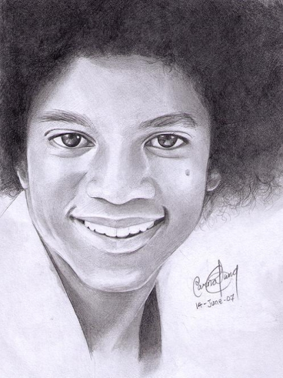 dessin Michael - Page 2 Michael-jackson-by-Carina