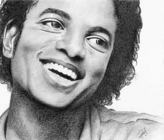 la mort du roi de la pop Michael-jackson-by-drawingyourattention