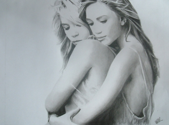 Ashley Olsen & Mary-Kate Olsen Sexy Hot Image