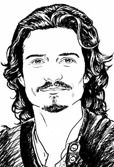 Orlando Bloom by PTabor