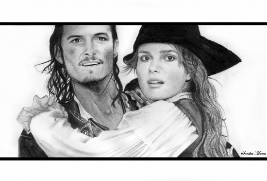 Orlando Bloom, Keira Knightley © akinosa