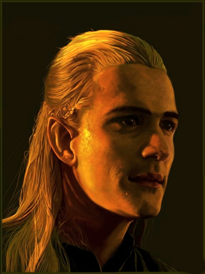Orlando Bloom by Sean-D-Omega