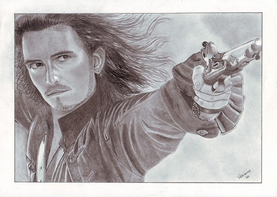 Orlando Bloom by wolverine