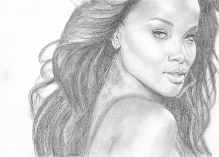 Rihanna by Leelee